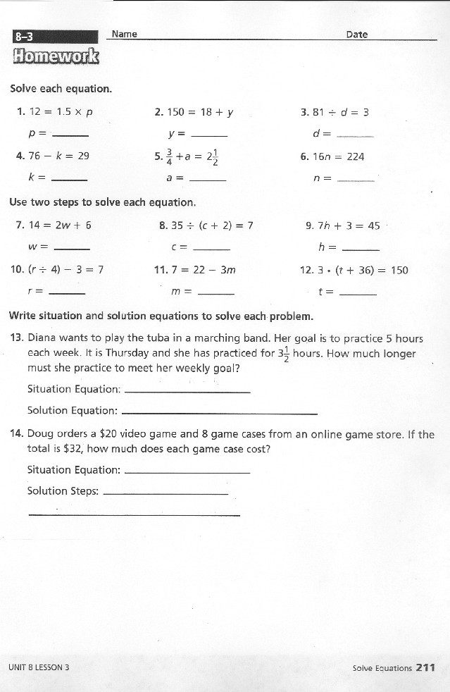 Evaluate Expressions | Algebra 5th Grade Math Standards